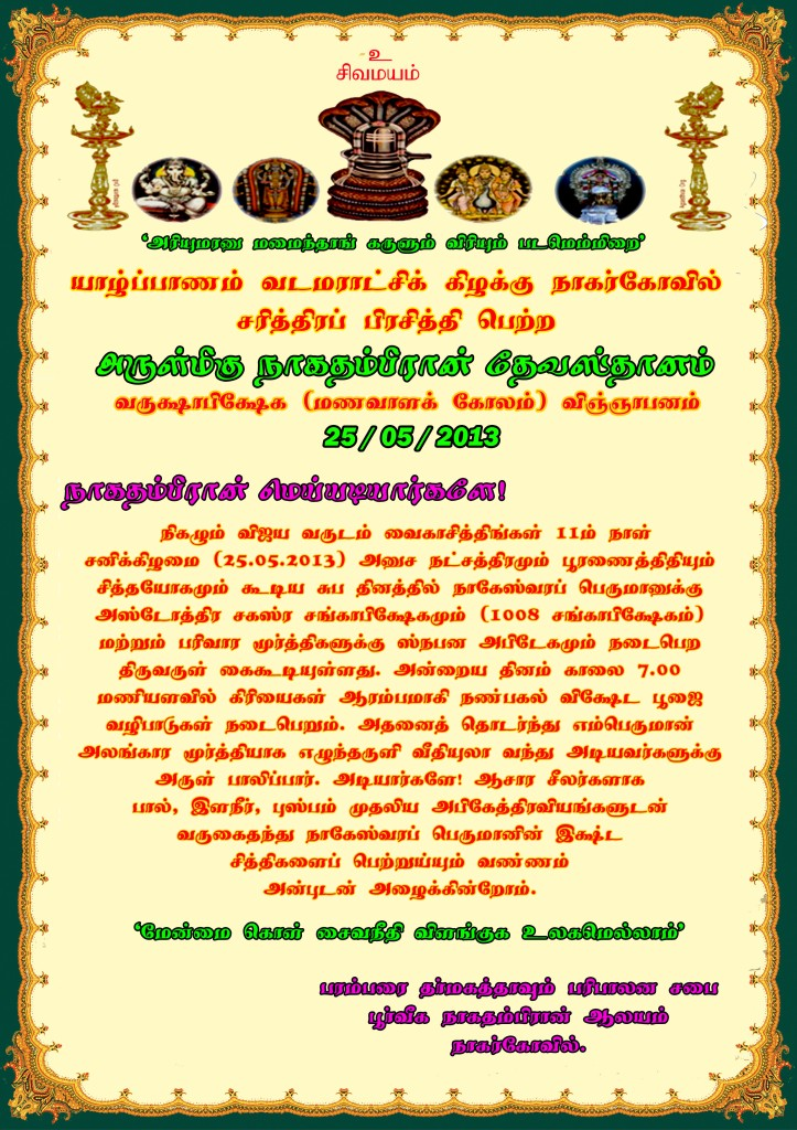 Nagarkovil Nagam New A